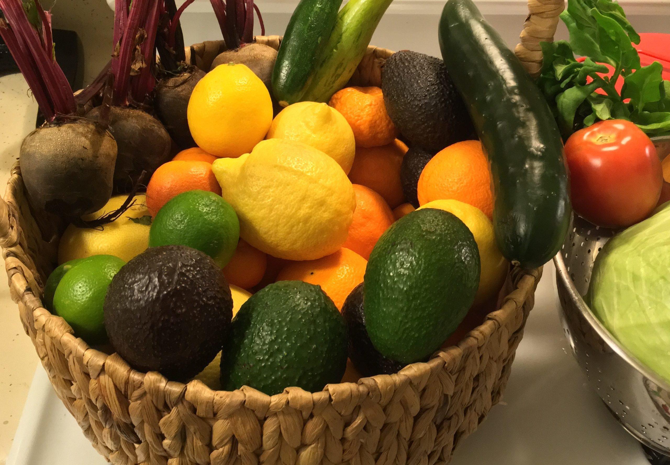 Basket From Farmer Steve